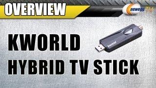 Newegg TV: KWorld Hybrid TV Stick UB445-U2 USB 2.0 Interface Overview