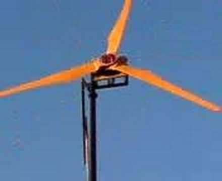Home Made Wind Generator