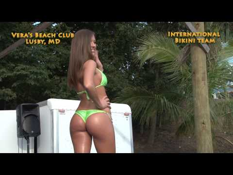 Bikini Contest at Vera's Beach Club, Lusby MD Sep 2013