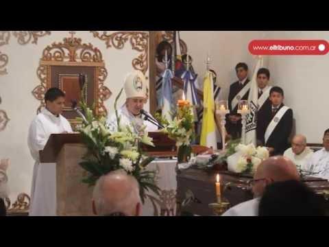 Sepultaron los restos de monseñor José Blanco en el primer cementerio sacerdotal de Jujuy