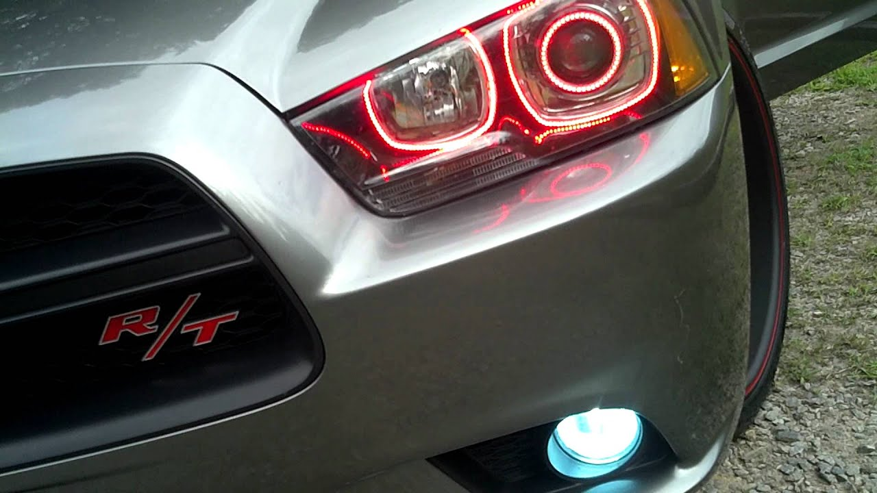 Dodge Charger Red Lights 2012 Dodge Charger R/t Red