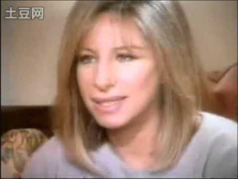 Barbra Streisand - The Infamous RARE Interview (she cried) Part 1 of 2