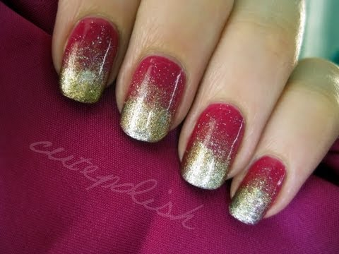 Effie Trinket Nail Art (The Hunger Games)