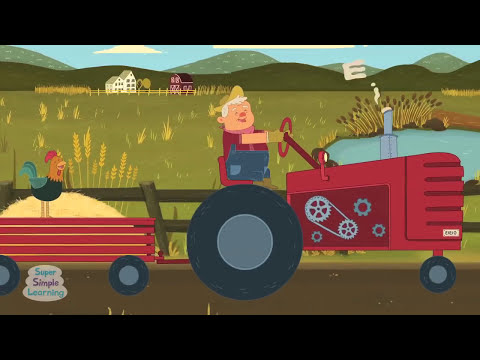 Old McDonald Had A Farm | Super Simple Songs