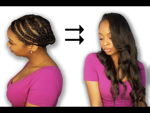 My U-Part Wig Braiding Pattern + How To Install