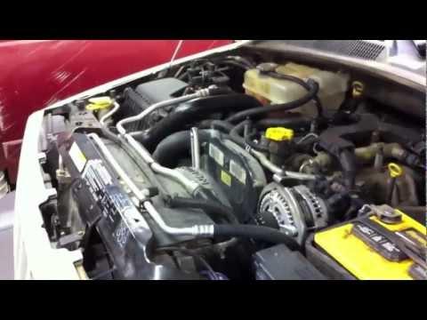 Jeep Liberty Diesel Timing Belt Repl