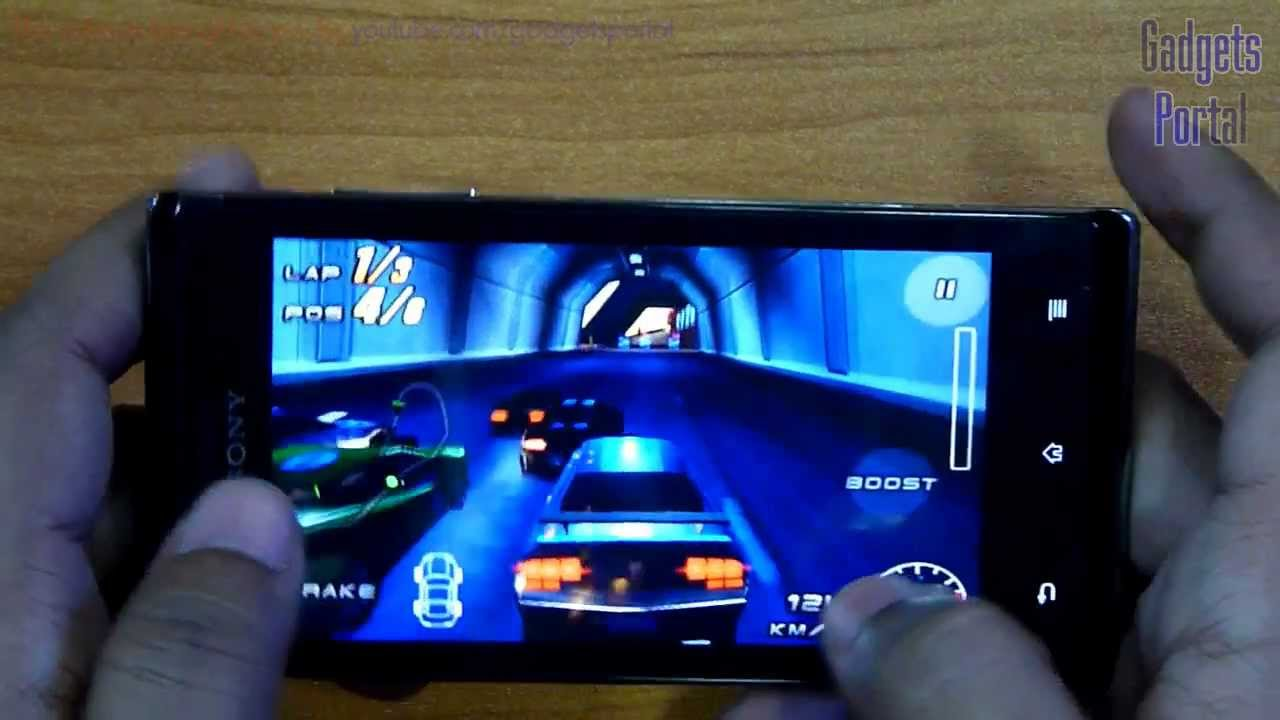 Sony Xperia J GAMING REVIEW HD  Xperia J White