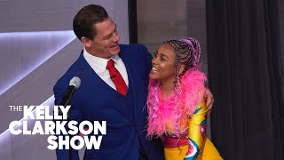 John Cena Surprises Sho Madjozi While Performing 'John Cena'