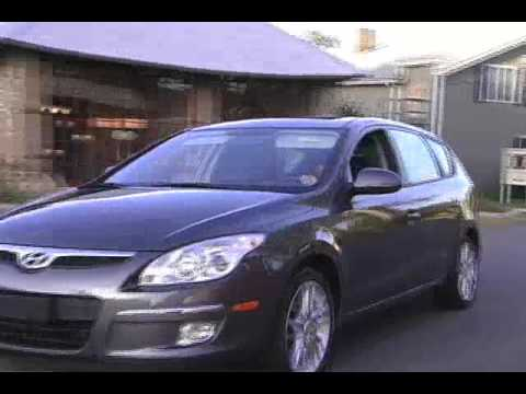 2009 Hyundai Elantra Touring Review Video