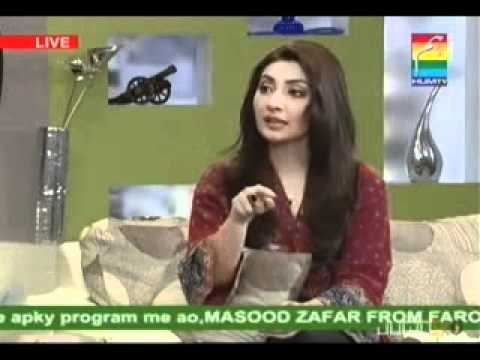 Morning With Hum Host Noor Feb 28 P6 Guest Aisha Khan