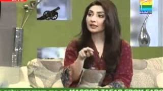 Morning With Hum Host Noor Feb 28 P6 Guest Aisha Khan