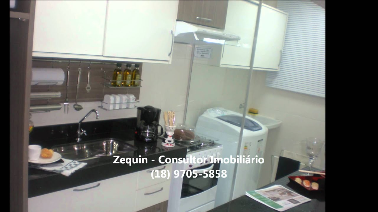 #766155 Apartamento Decorado MRV Engenharia Araçatuba (Configuração de  1920x1080 px Projetos Cozinha Cooktop #15 imagens