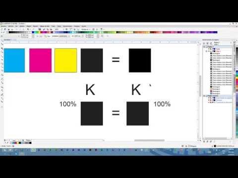Mejorar el color negro en tintas de mala calidad de sublimacion y metodo cmyk en epson