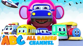 Vehicles Song | Nursery Rhymes | Learn Vehicles For Kids | Songs For Children | Baby Songs