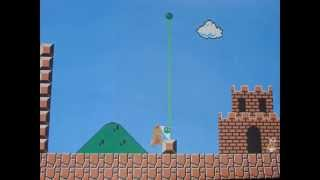 Stopmotion Super Mario Bros World 1-1