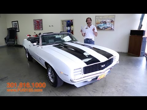 1969 Chevrolet Camaro SS396 L89for sale with test drive. driving sounds. and walk through video