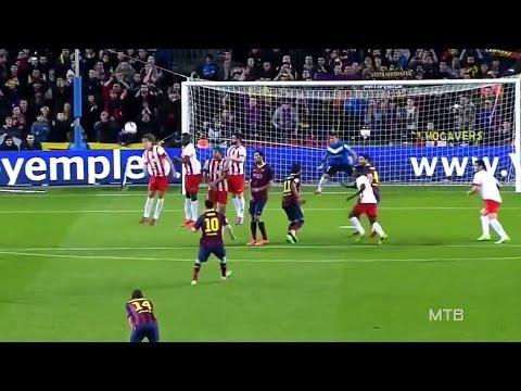 Lionel Messi ● Amazing Curve Goals video