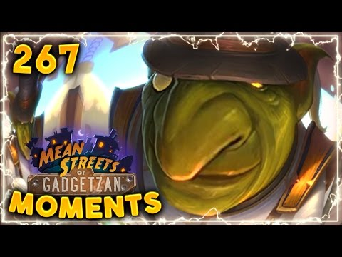 Noggenfogger Insane Play!! | Hearthstone Gadgetzan Daily Moments Ep. 267 (Funny and Lucky Moments)