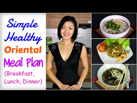 Healthy Asian Meal Plan to Lose Weight (Breakfast, Lunch, Dinner)