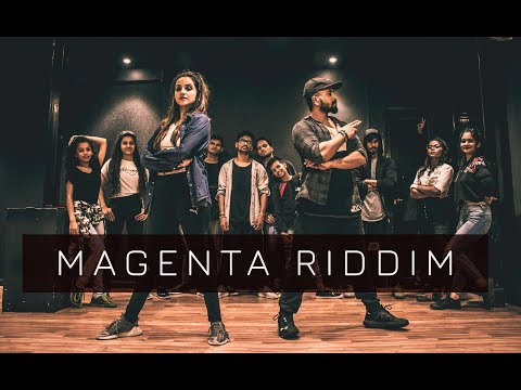 MAGENTA RIDDIM   One Take   Tejas Dhoke Choreography   Dancefit Live