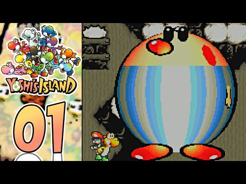Yoshi's Island (GBA) - Part 1