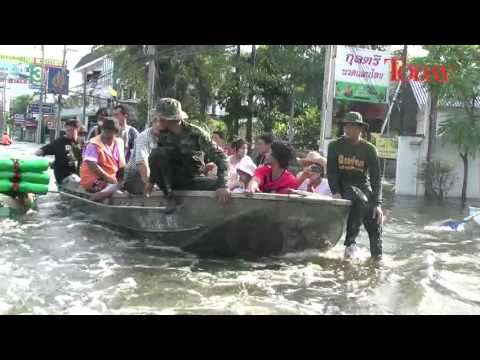 Flooding in Thailand, 22 Oct, 2011