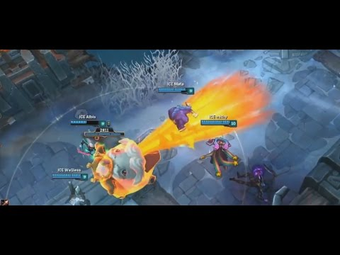 Ice VS Fire - The Legend Of The Poro King - 2016 All-Star Day 2
