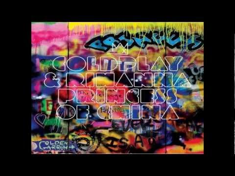 Coldplay Ft. Rihanna - Princess Of China (Radio Edit) HD
