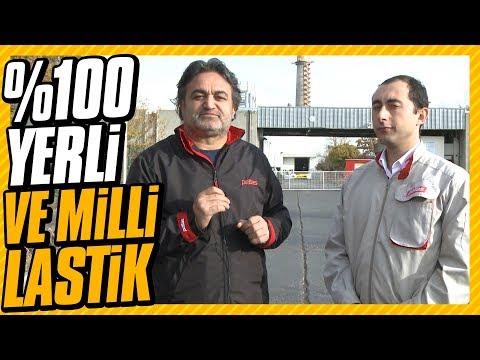 Tasarımdan üretime Türkiye'nin %100 yerli ve milli lastiği