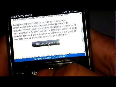 Como baixar o Whatsapp no Blackberry sem usar o Appworld, vídeo em espanhol.