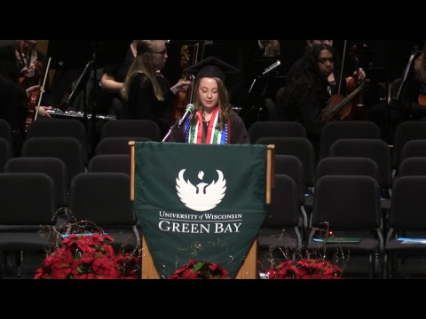 UW-Green Bay Fall Commencement 2018