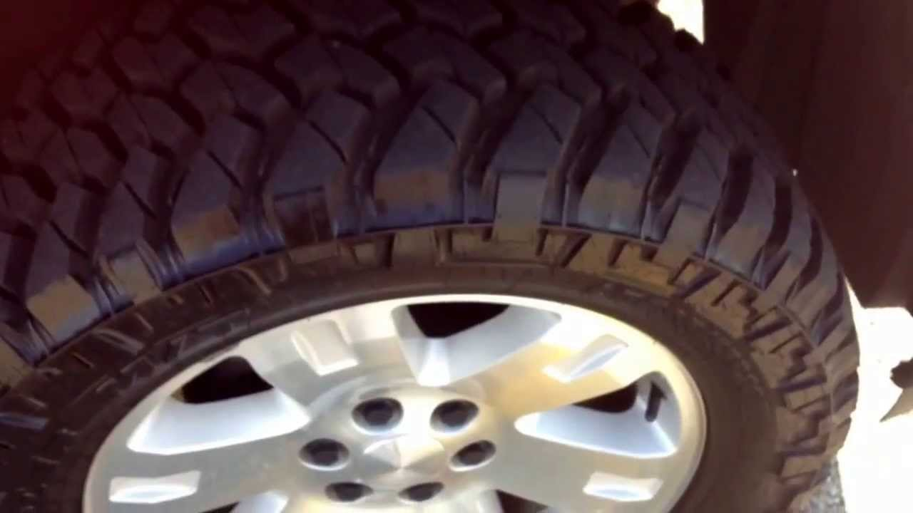 2008 Gmc Sierra On 295 55 20 Nitto Trail Grapplers Youtube