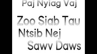 Paj Nyiag Vaj - Zoo Siab Tau Ntsib Nej Sawv Daws