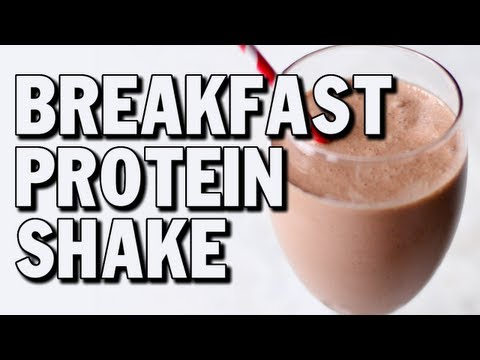 Quick Bodybuilding Breakfast Protein Shake