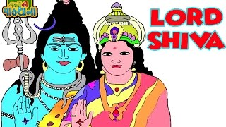 Lord Shiva Cartoon Full Movie | Mythological Animated Stories Collection | Kids Animated Movies