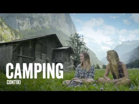 Camping in Europe - Contiki - #NOREGRETS