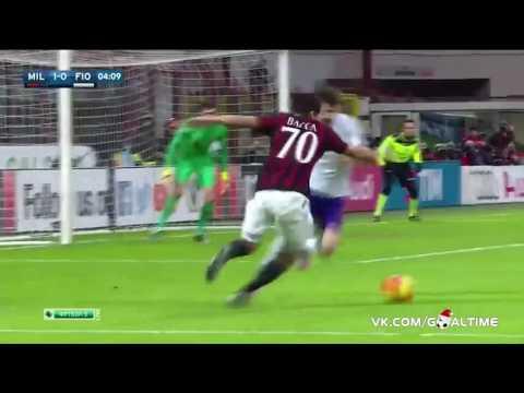 Carlos Bacca Goal - AC Milan Vs Fiorentina 2-0 7/18/2016