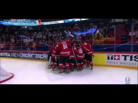 1/2-Final SWITZERLAND - USA 3:0 █ IIHF WC 2013 █ Goals Eishockey WM Halbfinale Schweiz