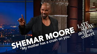 Shemar Moore And Stephen Compare Abs