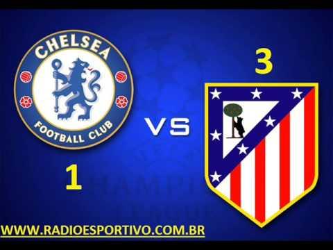 Chelsea 1 - 3 Atlético de Madrid - Narración: Alejandro Romero ( Onda Cero) 30/04/2014