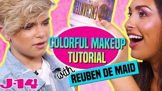 Colorful Makeup Tutorial With Reuben de Maid