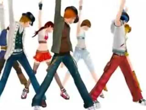 Montagem Aquecimento Criançada 3D dance 1 Mix 2009 Funk drawing dancing dibujos animados bailando Video