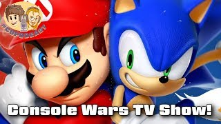 Console Wars Book Becoming TV Show - #CUPodcast