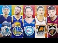 RANKING THE BEST 3 POINT SHOOTER FROM EACH NBA TEAM