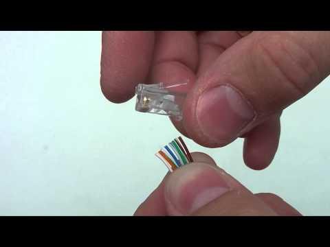 Jak Zarobić Kabel Ethernet (RJ-45)