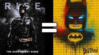 24 Reasons The Dark Knight Rises & The Lego Batman Movie Are The Same Movie