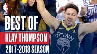 Best of Klay Thompson | 2017-2018 NBA Season