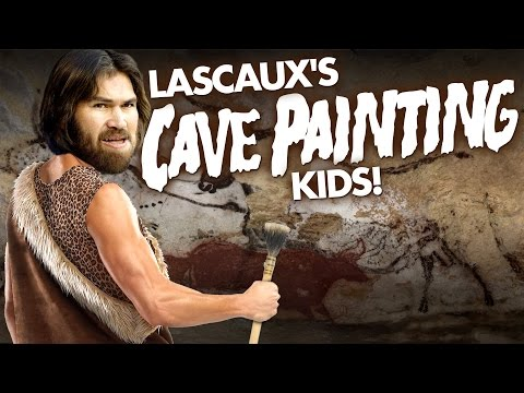 The Adventures of Lascaux's Cave Painting Kids