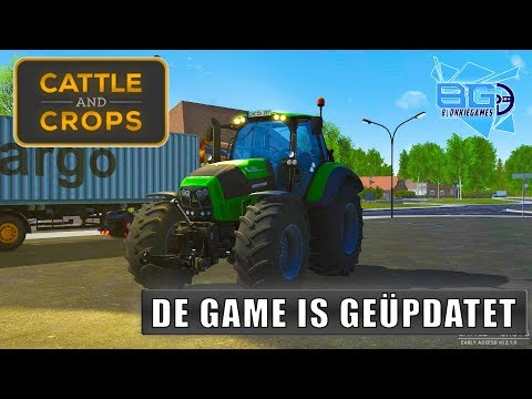 """DE GAME IS GEÜPDATET!"" Cattle and Crops"