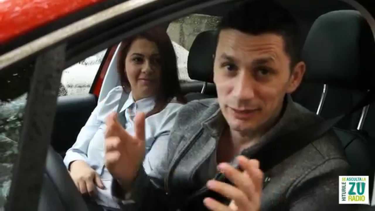 ZUBER pentru ZUper fete - Andreea si Flick catre job in Peugeot 208